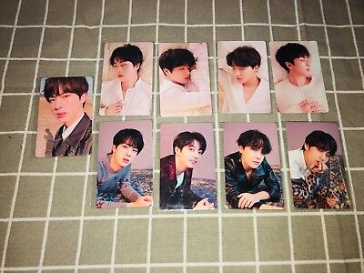 Bts Official Dna Love Yourself Tear Rm J-Hope Jin  V Taehyung Jungkook Photocard