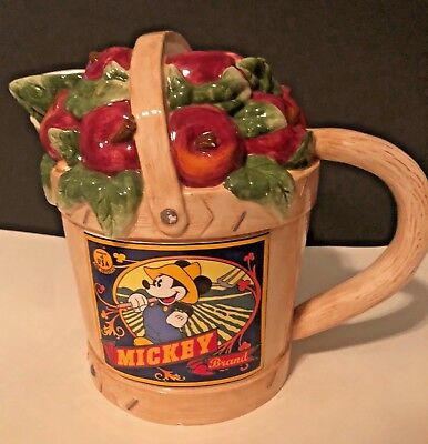 Rare Disney Beauty And The Beast Cookie Jar Mrs Potts Chip