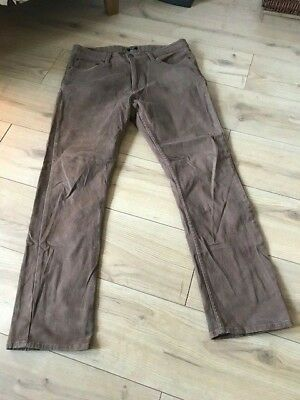 Florence & Fred Straight Leg Jeans Brown 34/32