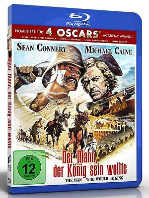 The Man Who Would Be King - New  - Blu Ray - Sean Connery - Michael Caine