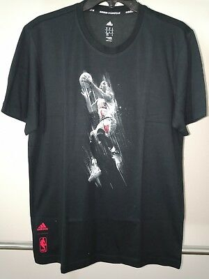 f8d2f6181 adidas Men's NBA Derrick Rose Graphic T-Shirt Basketball/Training/Gym Medium