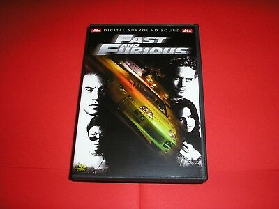 "DVD,""FAST AND FURIOUS 1"",vin diesel,paul walker,etc......"