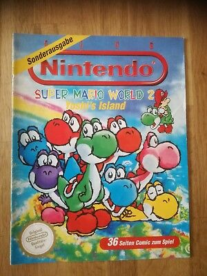 Club Nintendo, Super Mario World 2, Yoshi´s Island Sonderausgabe 1 GB NES SNES
