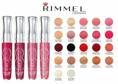 Rimmel Stay Glossy Lipgloss choose your colour