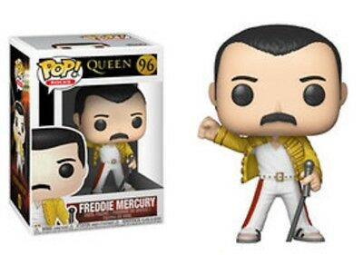 Queen - Freddie Mercury Wembley 1986 Funko Pop Vinyl New in Box Due March
