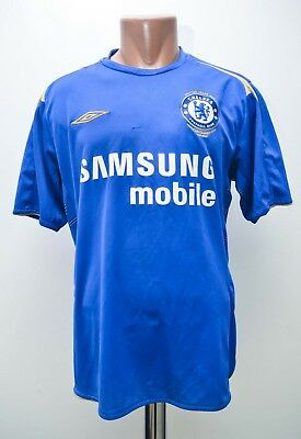Chelsea England 2005/2006 Home  Football Shirt Jersey Umbro Size L Adult