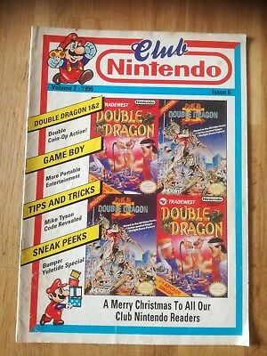 Club Nintendo Volume 2 - 1990 - Issue 6 - UK-Ausgabe GB NES SNES