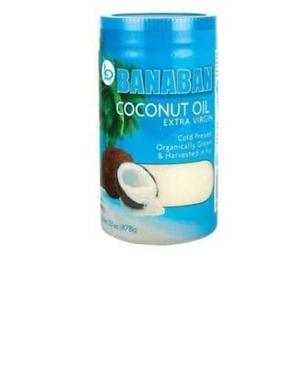 Banaban, Extra Virgin Coconut Oil, 1 Litre (878g)