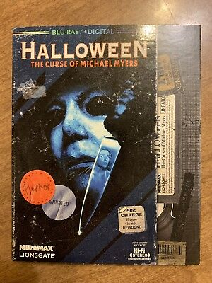 Halloween 6: The Curse of Michael Myers (Blu-ray Disc, 2018) w/slipcover, NEW!
