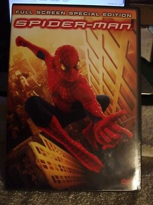 Spider- Man  Full Screen Special Edition Dvd -