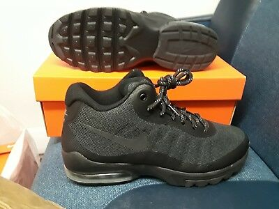 bf6f767ede62 Nike Men s Air Max Invigor Mid Black grey Running Shoe 858654 002 Size  8.5