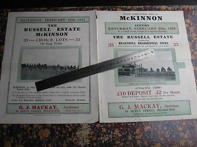 G J Mackay Real Estate. McKinnon Land Sale Map & Brochure . Thomas St. McKinnon