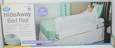Regalo Hide Away Extra Long Bed Rail, White, 5010hd *See Desc*