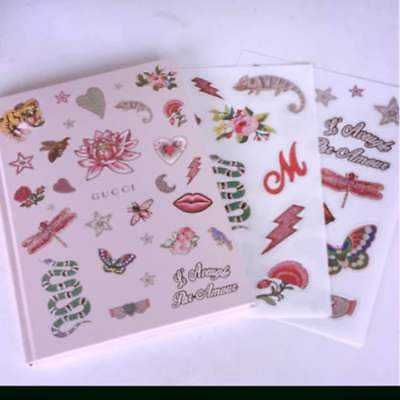 "NEW Gucci Notebook with DIY Sticker Japanese fashion magazine ""Numero TOKYO"" 783"