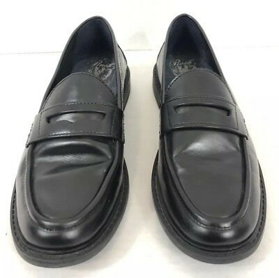 84020c88f06c Cole Haan Pinch Grand Penny Loafer Size Womens 8 B Solid Black Leather Slip  On