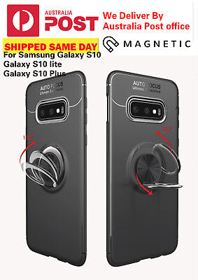 Luxury Magnetic 360* Ring Holder Phone Case For Samsung Galaxy S10 /Plus /S10e