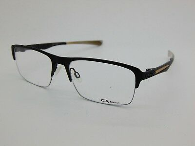 198a757e256c0 OAKLEY HOLLOWPOINT 0.5 OX5091-0154 Satin Black Titanium 54mm Rx Eyeglasses