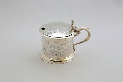 Victorian Mustard Pot by Joseph Angel  Lon. 1843