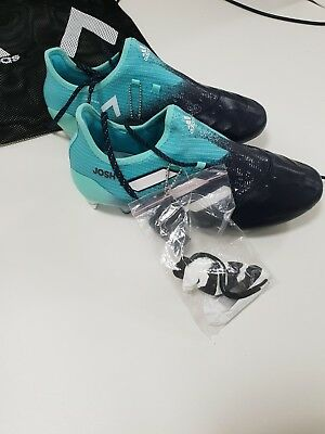 846c43dccd9f NEW adidas ACE 17.1 SG leather size 8 football boots personalised - JOSH