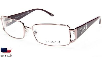 4a1341033aea NEW VERSACE 1062-B Sleek Eyeglass Frame/glasses Made In Italy With ...