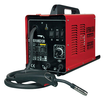 Supermig130 Sealey Mini Mig Welder 130Amp 230V