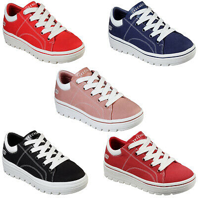 SKECHERS STREET CLEAT Bring It Back Trainers 74100 Womens