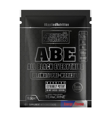 Applied Nutrition ABE Pre-Workout Sample Sachets x10 Energy All Flavours