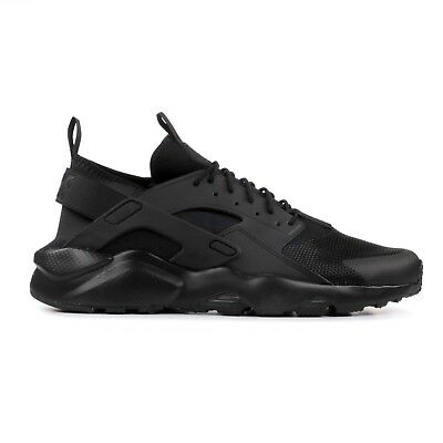 sports shoes bd7fd f5aac Nike Air Huarache Run Ultra Total Black Nere Mens Uomo Donna Scarpe Shoes  819.