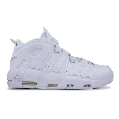 meet b036f 42a39 Nike Air More Uptempo Wmns Total White Bianco Uomo Donna Scarpe 921948 100