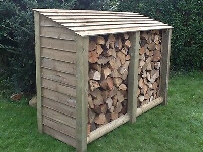 Log Store, Heavy Duty Pressure Treated