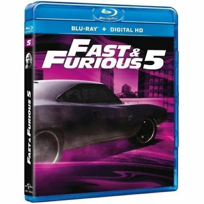 "Blu-ray ""Fast and Furious 5"" - Vin Diesel, Paul Walker  NEUF SOUS BLISTER"
