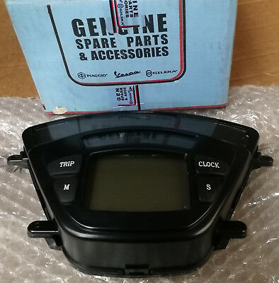 640261 Digital Instrument Speedo Assy Clock Dash In Km For Piaggio X9 250 2001