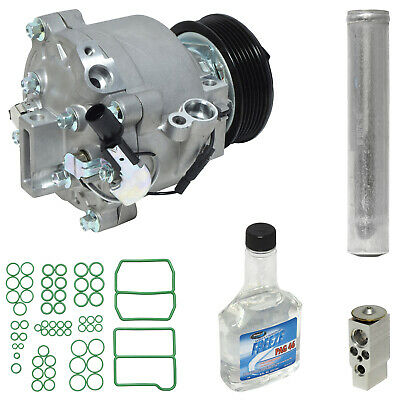 New A//C Compressor Kit w// Condenser KT 4742A Outlander Lancer