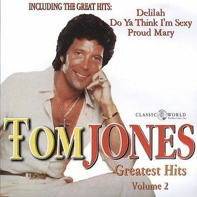 TOM JONES - GREATEST HITS, Vol. 2 CD - BRAND NEW & SEALED - Delilah - Proud Mary