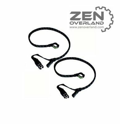 """Rok Straps Cruiser Strap It  30"""" Flat 750mm Twin Pack PAIR StrapIt Strap-It"""