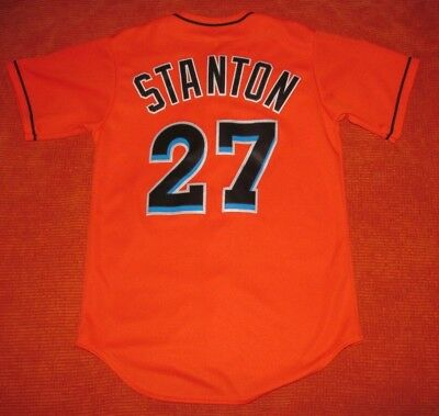 5398c8728 STANTON MIAMI MARLINS Cool Base Jersey Collection MAJESTIC - Men s ...