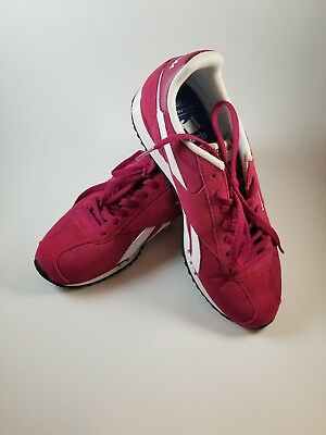 Reebok Royal Foam Lite Womens Ortholite Sneakers Fuschia Maroon Pink Size  7.5 2bfe02c69