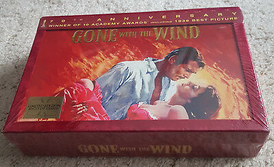 GONE WITH THE WIND * 70th ANNIVERSARY EDITION * DVD * NEW & SEALED