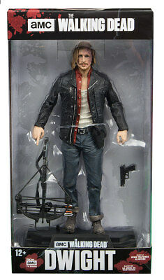 "The Walking Dead DWIGHT 7"" Action Figure AMC TV Series McFarlane Color Tops #31"