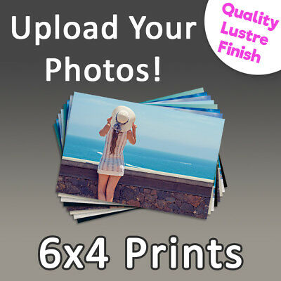 Photo Prints 6x4 - Personalised Photo Printing Service, High Quality Photographs
