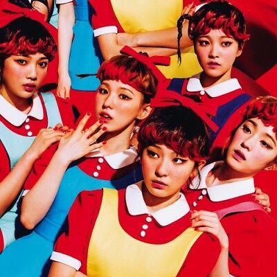 RED VELVET SMTOWN MUSEUM OFFICIAL GOODS ALBUM PHOTOCARD PHOTO CARD The Red NEW