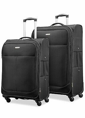 """Samsonite 2 Piece Expandable Spinner Luggage Set 25"""" And 21"""""""