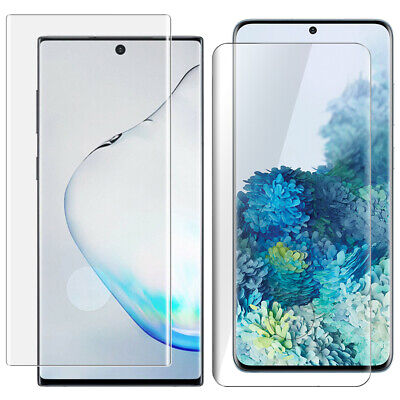 Samsung Galaxy S9 S9+ S8 S8+ Note 9 8 Full Cover Tempered Glass Screen Protector
