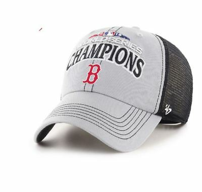 e6e426238a2694 Boston Red Sox 2018 World Series Champs '47 Adjustable Clean Up Hat Cap