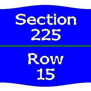2  Chicago Cubs vs. San Diego Padres Tickets  7/21 225