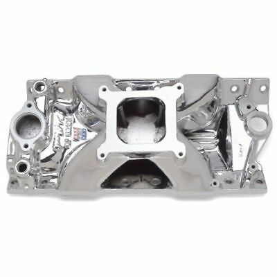 Edelbrock 29754 Victor Jr. 23 Degree Intake Manifold For Small Block Chevy