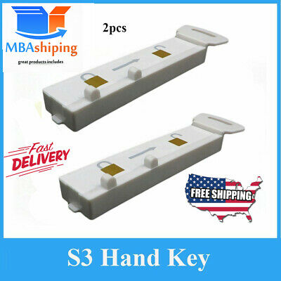 2pcs S3 Lot Handkey Eas Magnaetic Display Hook Detacher Key Security Lock Spider