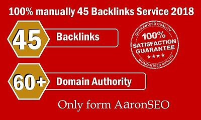 45 Backlinks from High-DA-60+ Domains- Skyrocket Google Ranking SEO Search