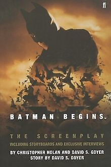 Batman Begins: The Screenplay by Christopher Nolan | Book | condition very good