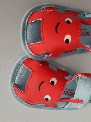 Seed Heritage Cutest Crab Sandals Baby Size 6 to 12 Months NWT
